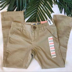 OLDNAVY  boot cut khaki pants